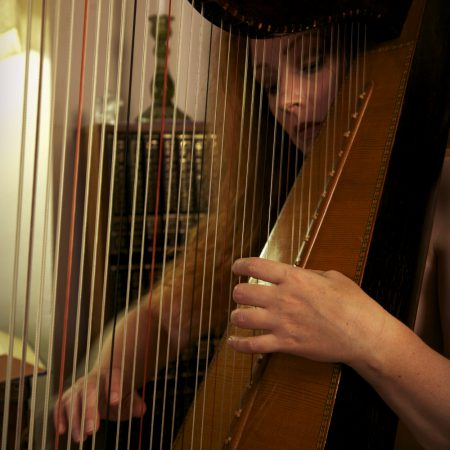 A Girl, A Harp, & A Photo Contest